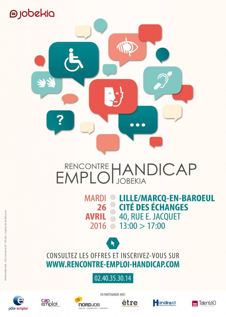Rencontre emploi handicap bordeaux 2016